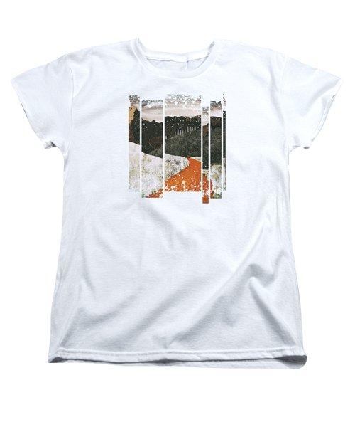 Desert Snow Women's T-Shirt (Standard Cut) by Katherine Smit