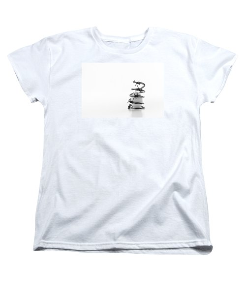 Women's T-Shirt (Standard Cut) featuring the photograph Destined To Be A Prisoner For Life by Yvette Van Teeffelen