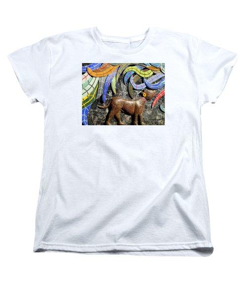 Diego Rivera Mural 4 Women's T-Shirt (Standard Cut) by Randall Weidner