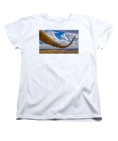 Dinosaur Tales Women's T-Shirt (Standard Cut) by Gary Warnimont
