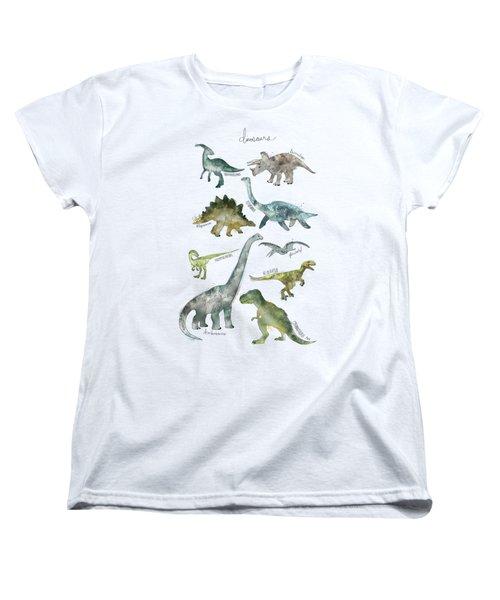 Dinosaurs Women's T-Shirt (Standard Cut)