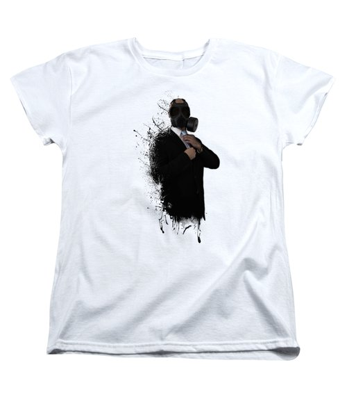 Dissolution Of Man Women's T-Shirt (Standard Cut) by Nicklas Gustafsson