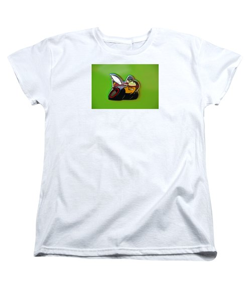 Dodge Scat Pack Badge Women's T-Shirt (Standard Cut) by Mike Martin