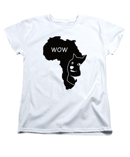 Dogecoin In Africa Women's T-Shirt (Standard Cut) by Michael Jordan