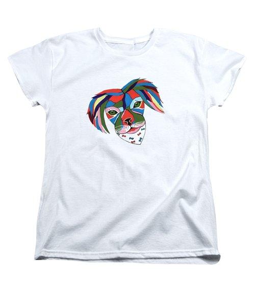 Doggie Dreams Women's T-Shirt (Standard Cut) by Kathleen Sartoris