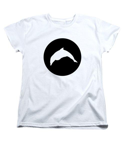Dolphin Women's T-Shirt (Standard Cut) by Mordax Furittus