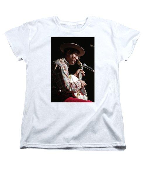 Women's T-Shirt (Standard Cut) featuring the photograph Dom Flemons by Jim Mathis