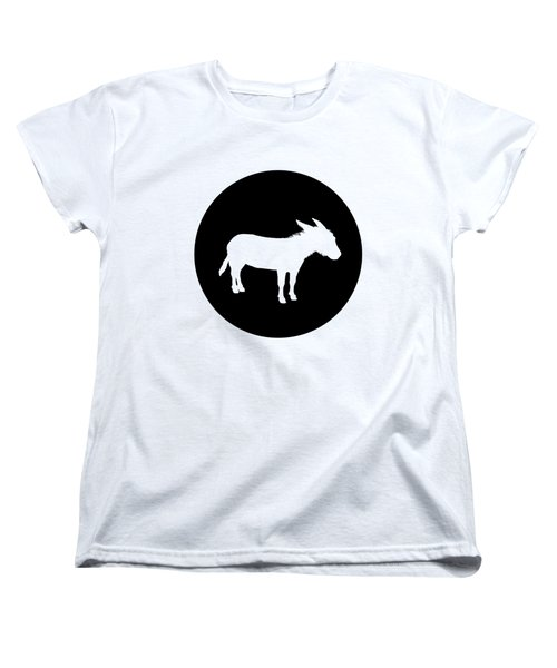 Donkey Women's T-Shirt (Standard Cut) by Mordax Furittus