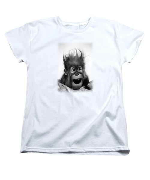 Don't Panic Women's T-Shirt (Standard Cut) by Miro Gradinscak