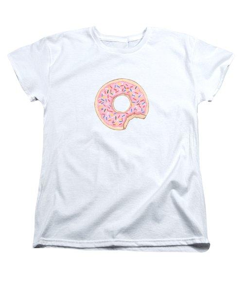 Donut Women's T-Shirt (Standard Cut) by Kathleen Sartoris