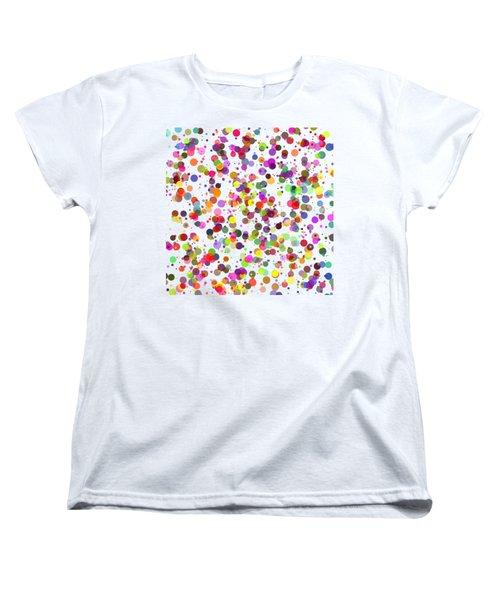 Dots Women's T-Shirt (Standard Cut) by Roger Lighterness