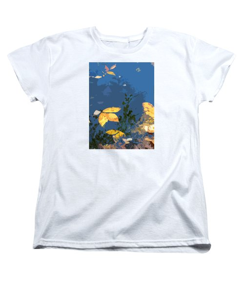Women's T-Shirt (Standard Cut) featuring the photograph Double Trinity by Spyder Webb