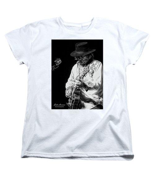Dr. Phil Bw Women's T-Shirt (Standard Cut) by John Loreaux