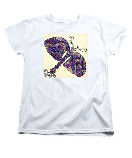 Dragon Fantasy 2 Women's T-Shirt (Standard Cut) by Megan Walsh