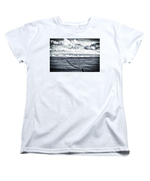 Dramatic Landscape  Women's T-Shirt (Standard Cut) by RKAB Works