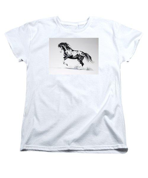 Dream Horse Series - Painted Dust Women's T-Shirt (Standard Cut) by Cheryl Poland