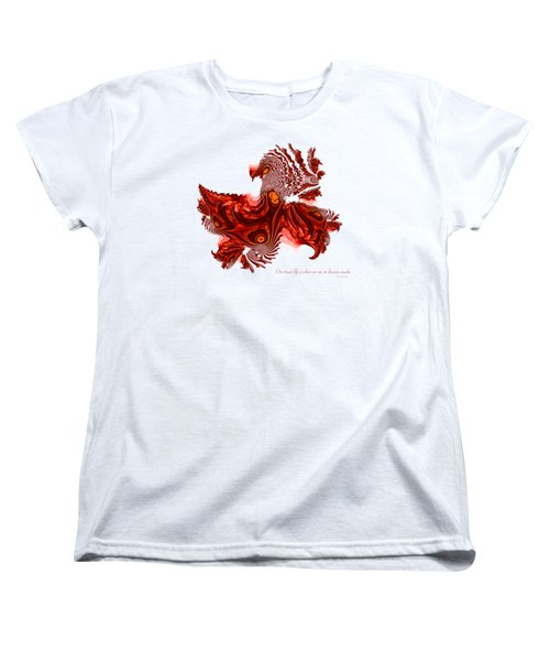 Dreaming Awake Women's T-Shirt (Standard Cut) by Fran Riley