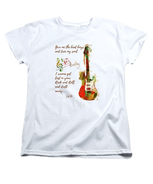 Drift Away Women's T-Shirt (Standard Cut) by Nikki Marie Smith