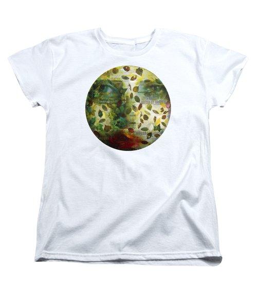 Women's T-Shirt (Standard Cut) featuring the painting Dripping Souls by Alfredo Gonzalez