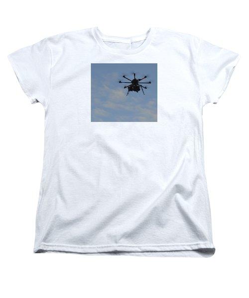 Women's T-Shirt (Standard Cut) featuring the photograph Drone by Linda Geiger