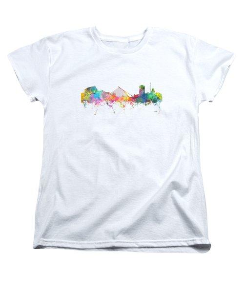Dublin  Ireland. Skyline Women's T-Shirt (Standard Cut) by Marlene Watson