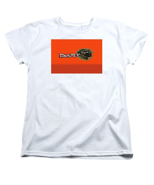 Women's T-Shirt (Standard Cut) featuring the photograph Duster Emblem by Mike McGlothlen