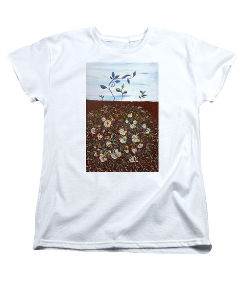Early Cotton  Women's T-Shirt (Standard Cut) by Erika Pochybova
