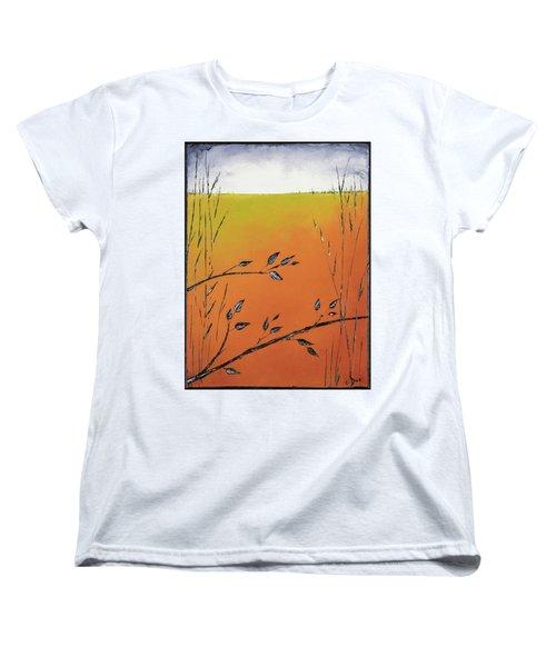 Early Spring  Women's T-Shirt (Standard Cut) by Carolyn Doe