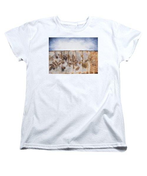 Earth And Sky II Women's T-Shirt (Standard Cut) by Carolyn Doe