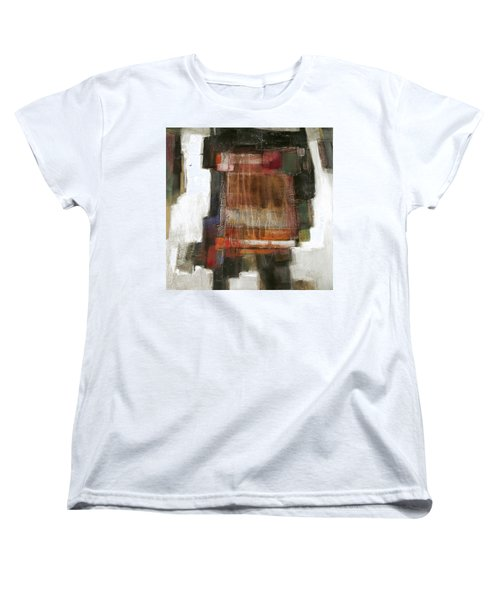 Orange Home Women's T-Shirt (Standard Cut) by Behzad Sohrabi