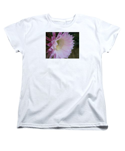 Easter Lily Cactus East 2 Women's T-Shirt (Standard Cut) by Marna Edwards Flavell
