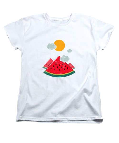 Eatventure Time Women's T-Shirt (Standard Cut) by Mustafa Akgul
