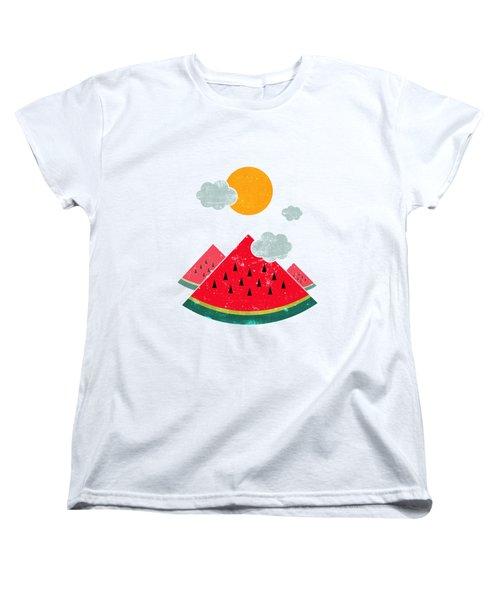 Eatventure Time Women's T-Shirt (Standard Cut)