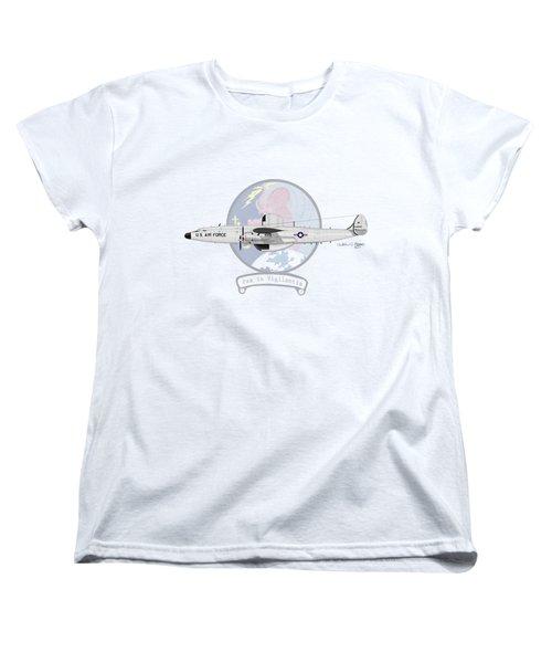 Ec-121d Super Constellation Women's T-Shirt (Standard Cut) by Arthur Eggers