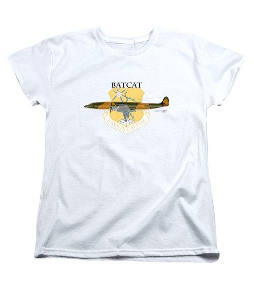 Ec-121r Batcatcavete Women's T-Shirt (Standard Cut) by Arthur Eggers