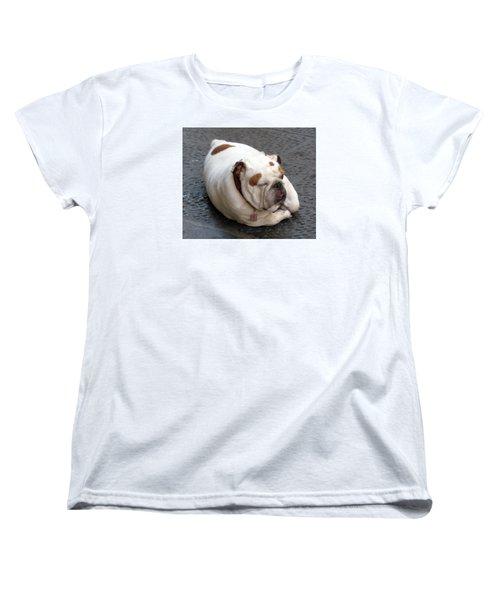 Eduardo Of Firenze Dog Women's T-Shirt (Standard Cut) by Lisa Boyd