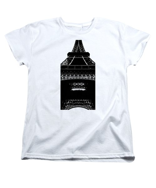 Eiffel Tower Paris Graphic Phone Case Women's T-Shirt (Standard Cut)