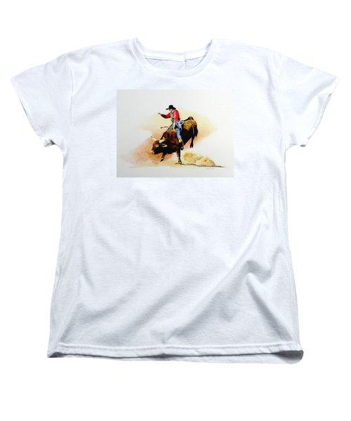Eight Second Shift Women's T-Shirt (Standard Cut) by Jimmy Smith