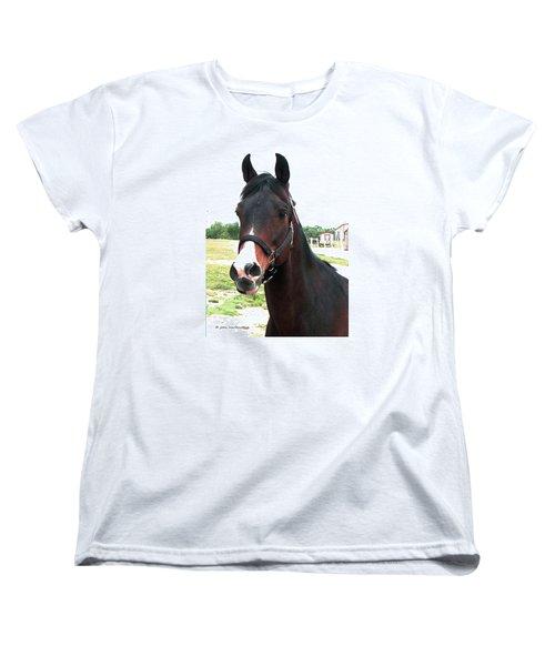 El Ameer Women's T-Shirt (Standard Cut) by Joan Hartenstein