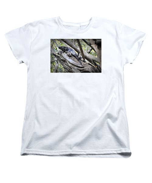 Women's T-Shirt (Standard Cut) featuring the photograph El Garrobo by Jim Walls PhotoArtist