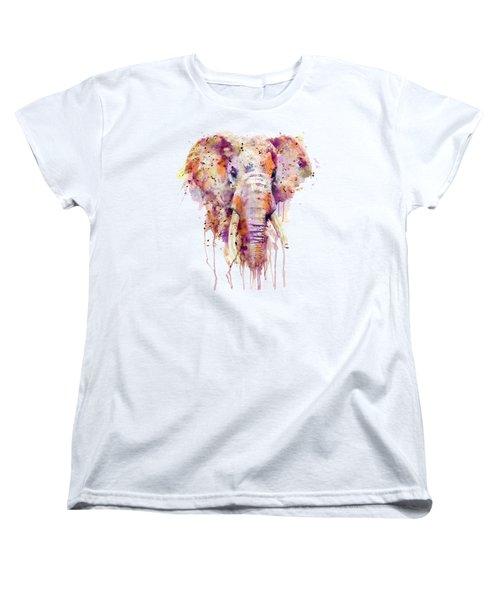 Elephant  Women's T-Shirt (Standard Cut) by Marian Voicu
