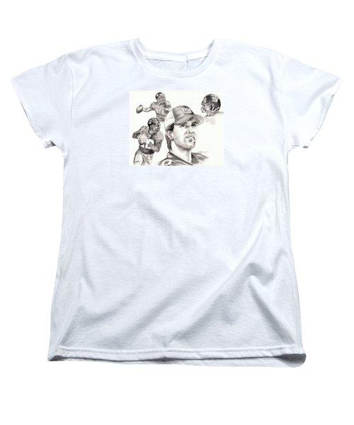 Eli Manning Women's T-Shirt (Standard Cut)