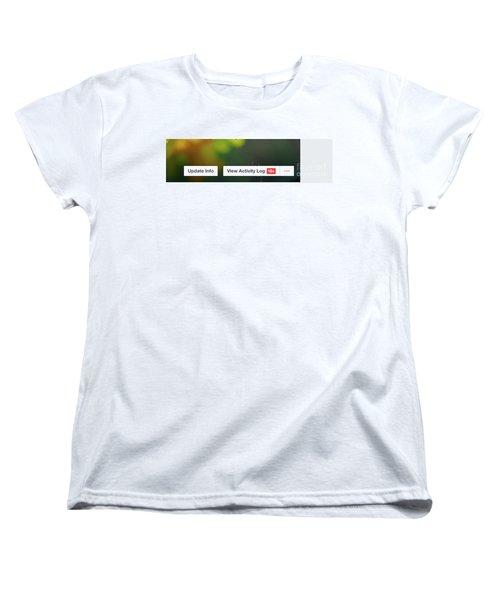 Elipses Women's T-Shirt (Standard Cut) by Lois Bryan