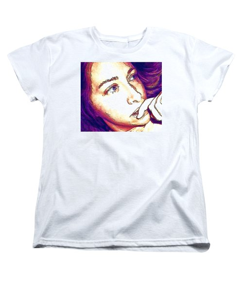 Women's T-Shirt (Standard Cut) featuring the digital art Ely by Ely Arsha