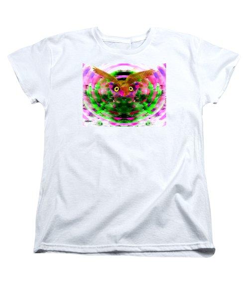 Women's T-Shirt (Standard Cut) featuring the digital art Embrace The Wind by Seth Weaver