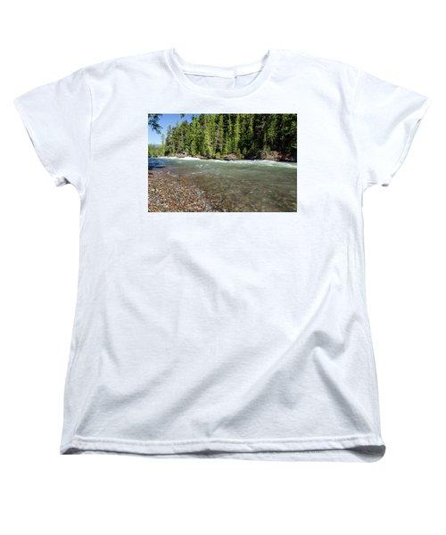 Emerald Waters Flow Women's T-Shirt (Standard Cut)