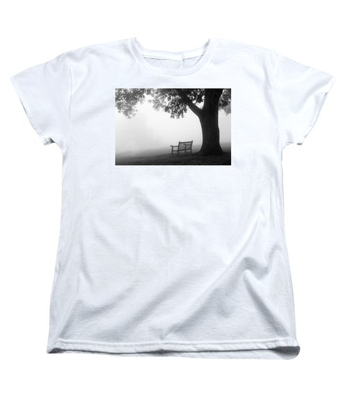 Empty Bench Women's T-Shirt (Standard Cut) by Monte Stevens