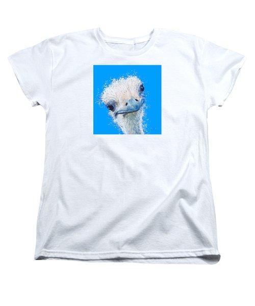 Emu Painting Women's T-Shirt (Standard Cut)