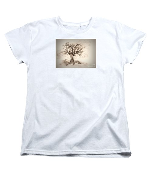 Enchanted 3 Women's T-Shirt (Standard Cut) by John Krakora