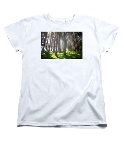 Women's T-Shirt (Standard Cut) featuring the photograph Enchanted by Laurie Search